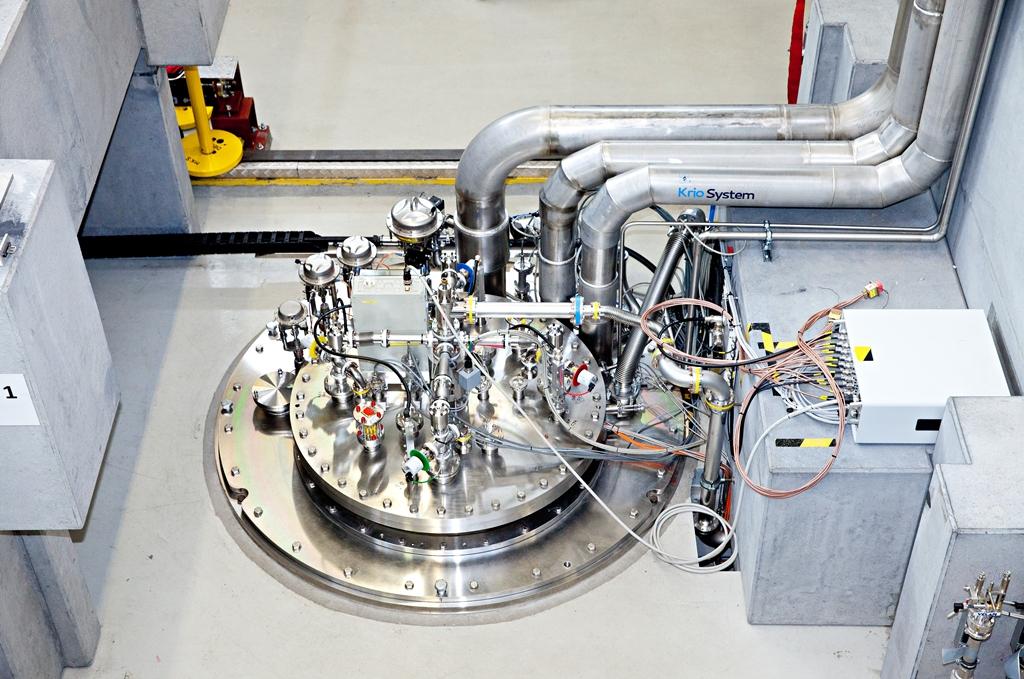 Moduł akceleratora lasera na swobodnych elektronach European XFEL (fot. arch. XFEL)