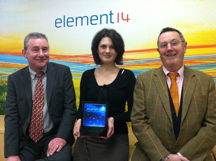 Farnell element14 nagrodzony przez firmę Kingbright  za wzrost sprzedaży produktów LED